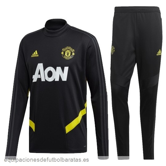 Chandal Manchester United 2019/20 Oro Negro Futbol Online